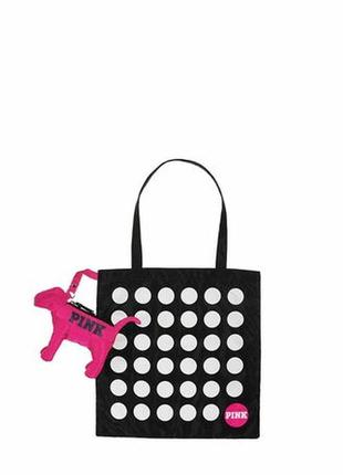 Сумка-шоппер fold-and-pack dot tote от victoria`s secret
