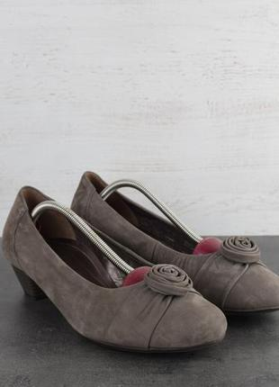 Туфли gabor. замша. размер 38.5