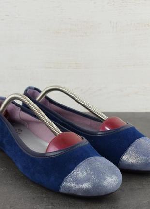 Балетки folie's chauss. кожа. сделаны в испании. размер 37