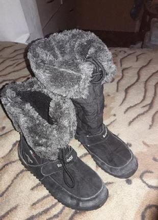 Зимние сапоги - дутики