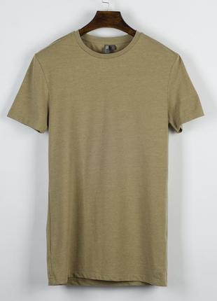 Базовая футболка коричневая