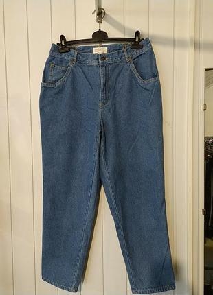 Актуальные брендовые джинсы с высокой посадкой  mom elisabeth petites