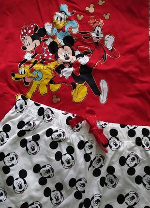 Пижама с микки маус primark disney