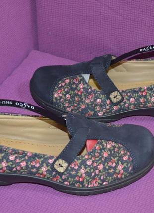Кожаные туфли hotter англия