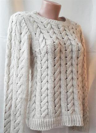 Нюдовий вязаний светрик від h&m3
