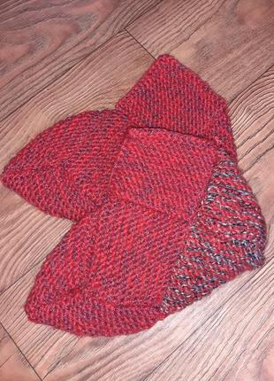Носки вязаные ,тапочки