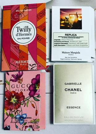 Пробники парфюмерии оригинал набор