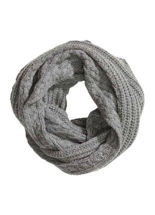 Шикарный мягкий теплый снуд  шарф хомут косы
