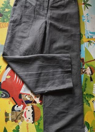 Next брюки палаццо лен