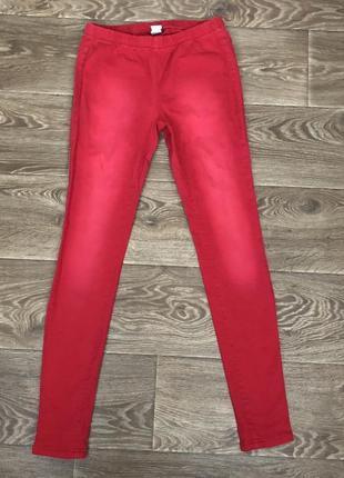 Штаны джинсы лосины