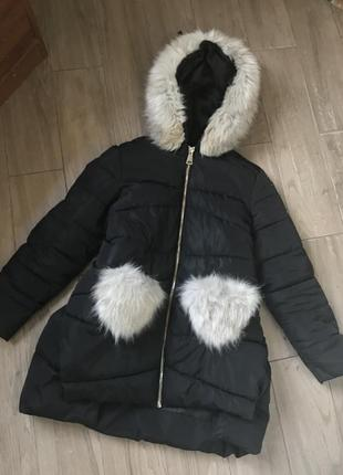 Теплая куптка пальто для беременных