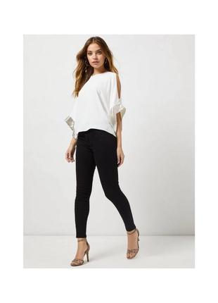 Стильные классические узкие брюки скинни леггинсы на резинке.