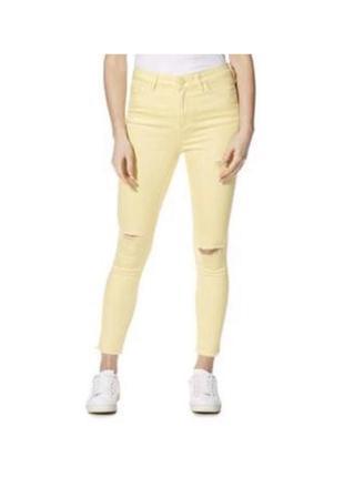 🔻🔻🔻 классные джинсы f&f  узкачи скинни с бахромой
