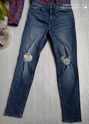 Мега стильні рвані джинси плотні