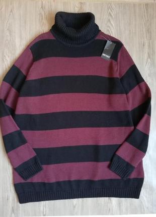 Шикарный свитер гольф водолазка esmara большой размер батал