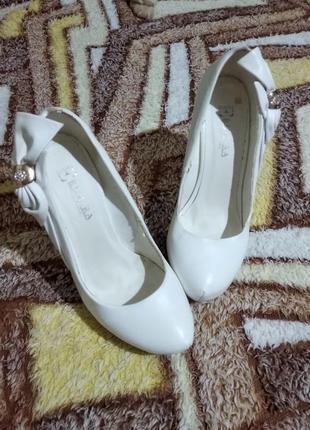 Туфли нарядные ( свадебные)