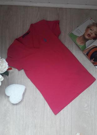 Тоненькая футболка размер хс ralph lauren оригинал