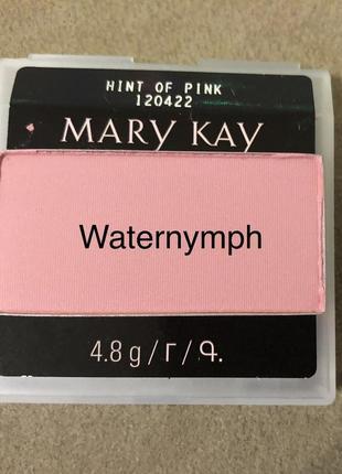 Румяна chromafusion, тон розовый блеск hint of pink (матовые) от mary kay