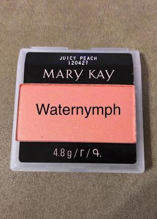 Румяна chromafusion, тон сочный персик juicy peach  (мерцающие) от mary kay