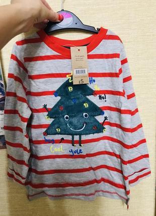 Новогодняя кофта, свитер лонгслив
