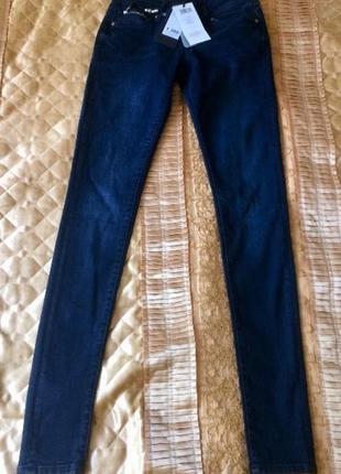 Новые женские джинсы colins bershka 26-32 super low rise skinny leg