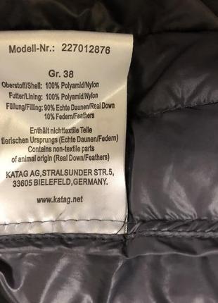 Легкая пуховая жилетка katag германия!7 фото