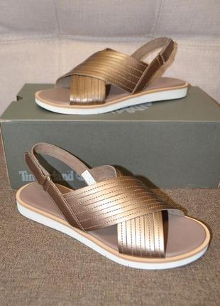 Кожаные сандалии босоножки timberland adley 41 и 42 размер