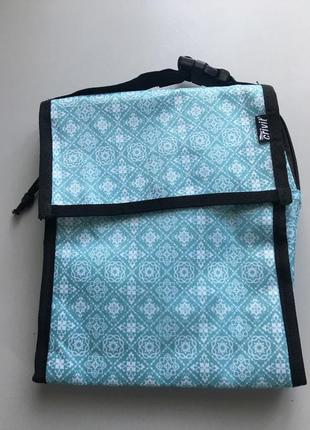 Термо сумка голубая crivit