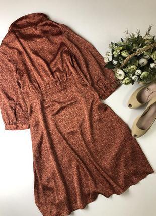Платье на запах h&m.  состояние нового размер хс-с{6}.