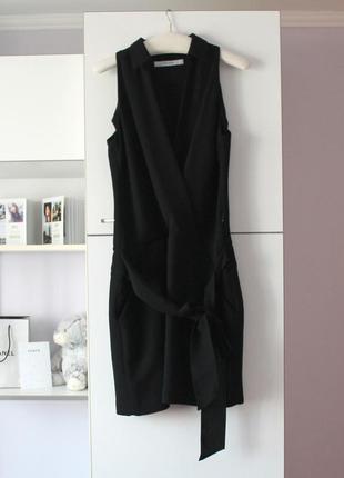 Черное платье от zara