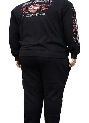 Harley davidson мужской спортивный костюм большого размера.