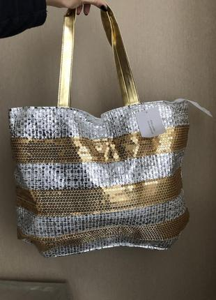 Новая сумка пляжная для пляжа