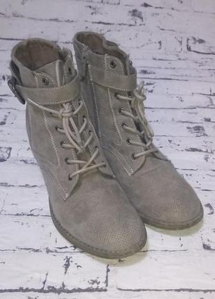 Демисезонные полусапожки,ботинки.германия