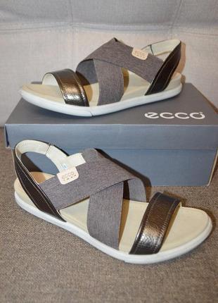 Кожаные сандалии босоножки ecco damara 2 - 41 и 42 размер