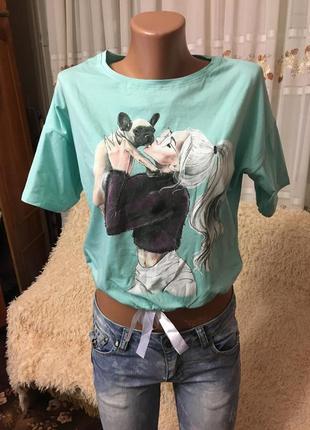 Модная футболка 🤩