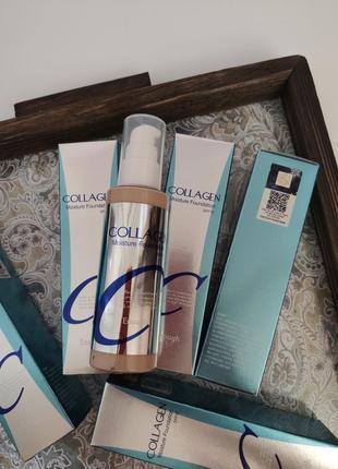 Тональный крем enough collagen moisture foundation spf 15 100ml