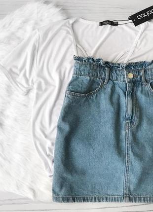 Джинсовая юбка 🍭