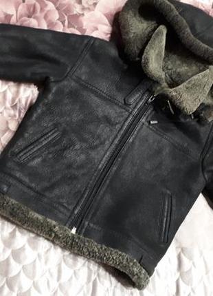 Дубленка натуральная на модника