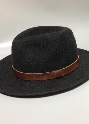 Bugatti шерстяная шляпа с полями мужская унисекс