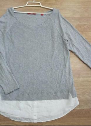 Стильная, брендовая, мягкая, качественная кофта, свитр, свитшот