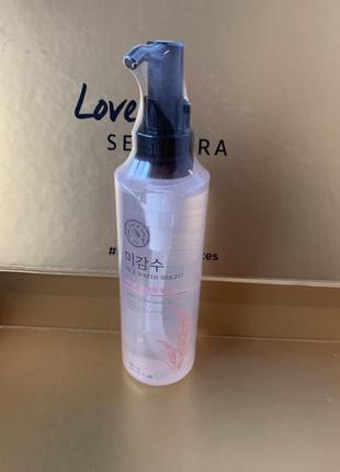 Гидрофильное масло the face shop rice water bright