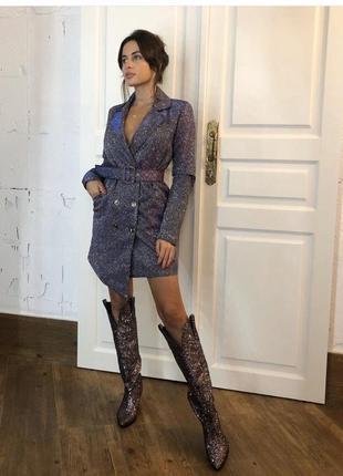 Стильна сукня, платье -пиджак, xs