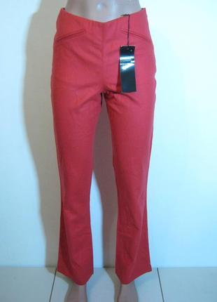 Демисезонные прямые брюки hache италия новые арт.905 + 2000 позиций магазинной одежды