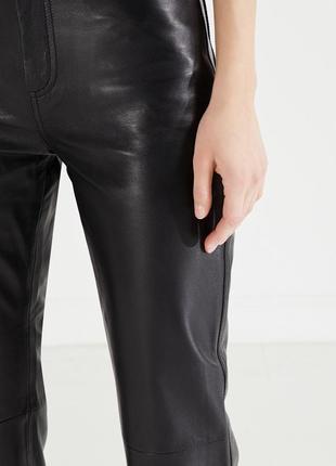 Кожаные брюки paris france