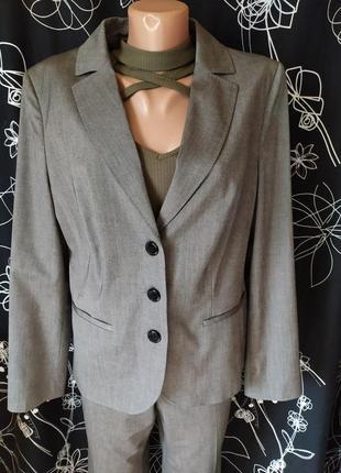 Стильный деловой костюм для деловой леди 48%вискоза
