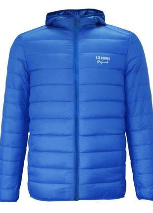 Теплый детский демисезонный пуховик куртка lee cooper оригинал