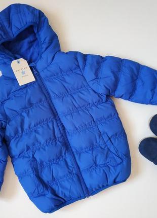 Теплая и яркая детская демисезонна куртка крафтед crafted оригинал