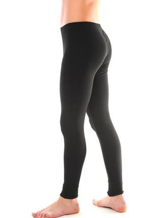 Кальсоны подштанники мужские черные duna3 фото