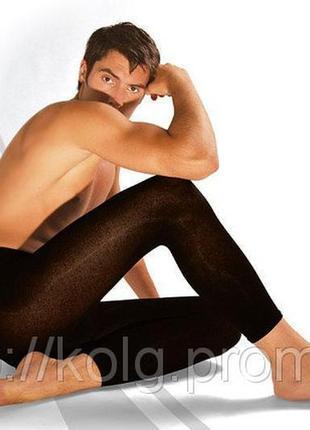 Кальсоны подштанники мужские черные duna6 фото