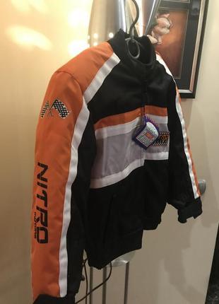 Профессиональная куртка для езды на квадроцикле и мотоцикле. фирма nitro. новая.